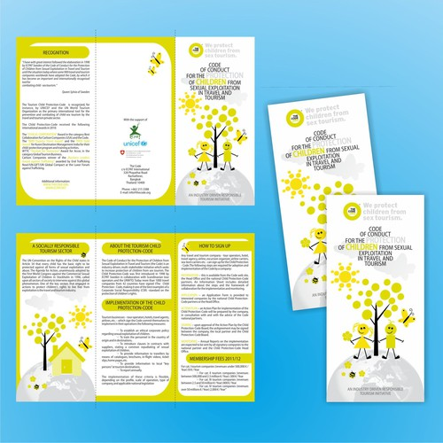 New Leaflet for International Nonprofit Organisation