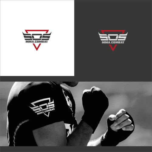 Logo concept for Sport fighters Brand