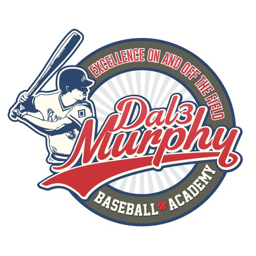 emblem logo for baseball academy