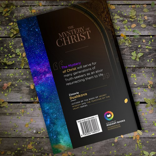 Breathtaking Cover for Spiritual Book: The Mystery of Christ
