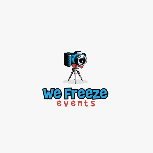 "Logo for ""We freeze events"" - the new, innovative photo booth"