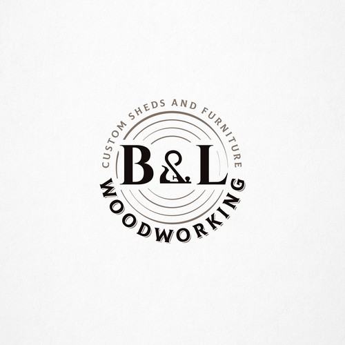 logo for B&L WOODWORKING
