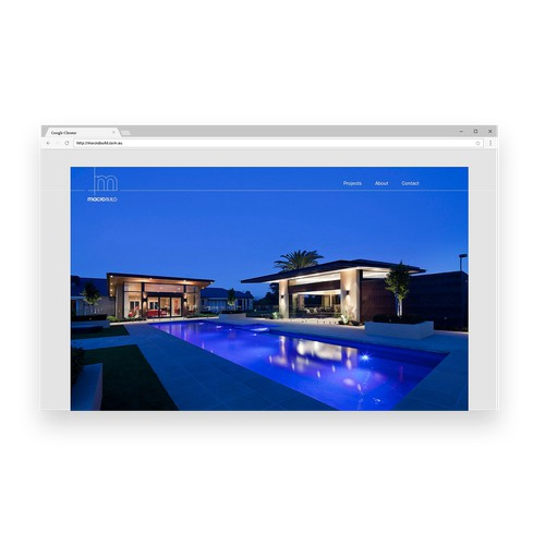 A Bespoke Website for a Bespoke Builder