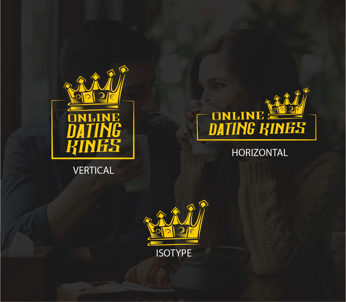 Online Dating Kings brand is looking for a logo