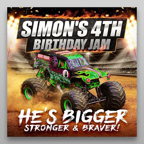 SIMON'S 4TH BIRTHDAY JAM