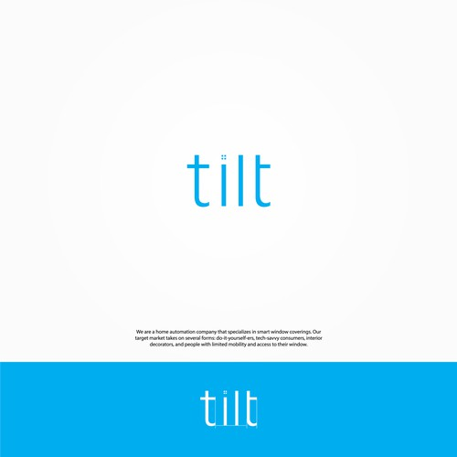 Design a simple logo with tech appeal for Tilt