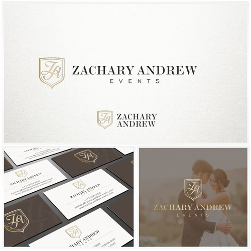 Elegant design for wedding planning business