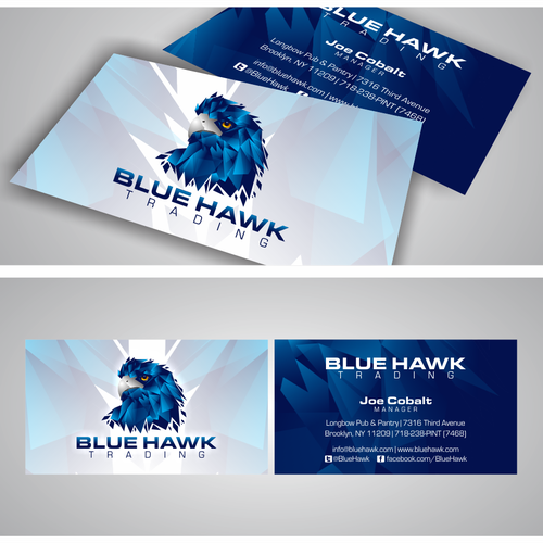 Blue Hawk Trading - Business Card