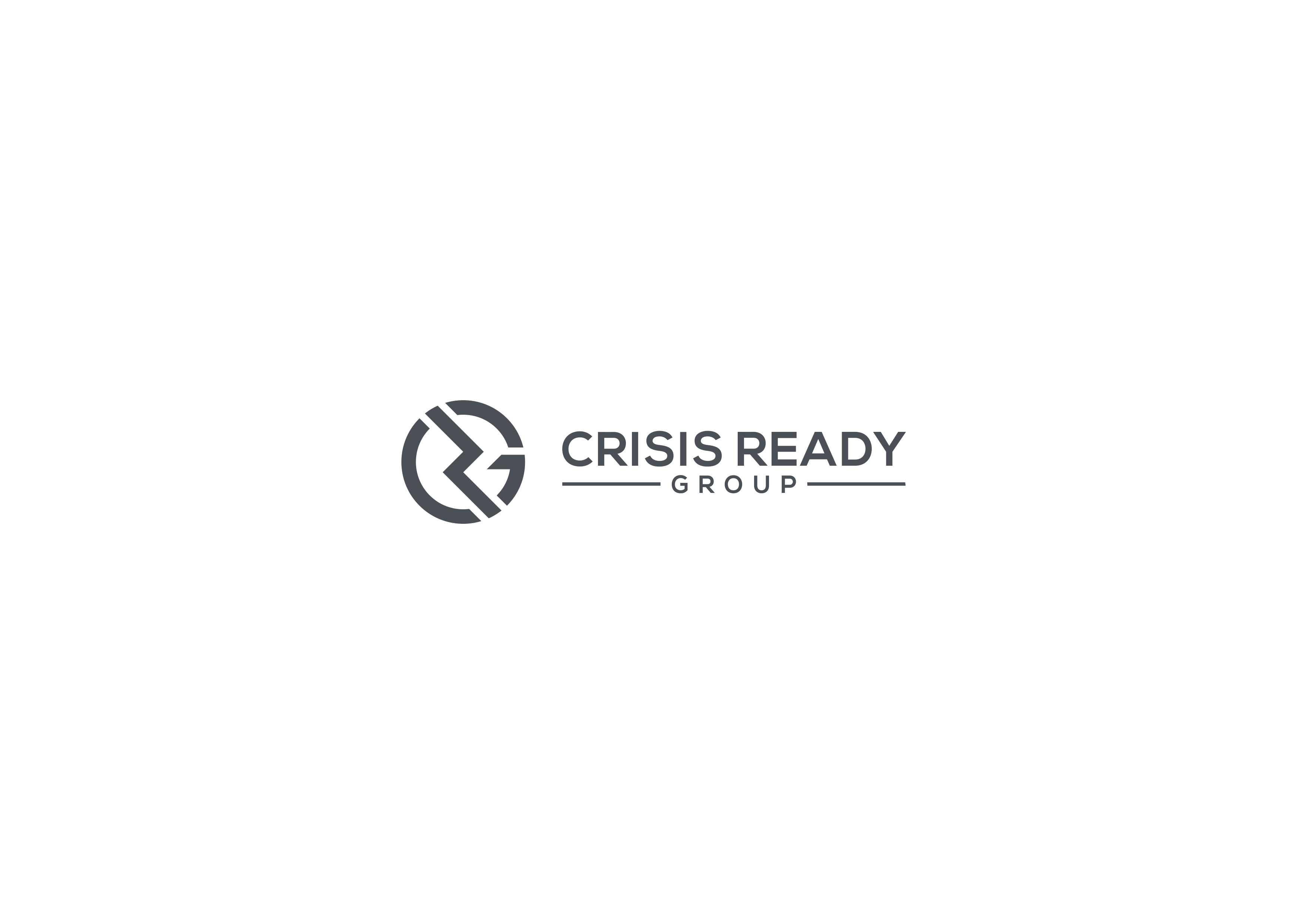 Professional and precise logo needed for a crisis management group