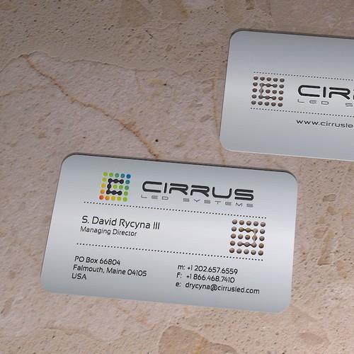 Metal Business Card