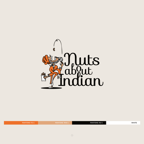Need a flash of genius from you to help create the brand visual identity for 'Nuts about Indian'