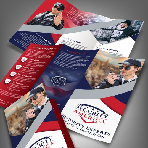 Security of America Trifold Brochure