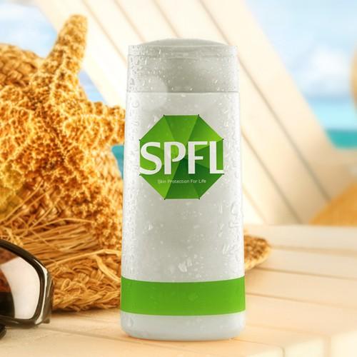 Create a clean corporate logo for a skin care / pharmaceutical company