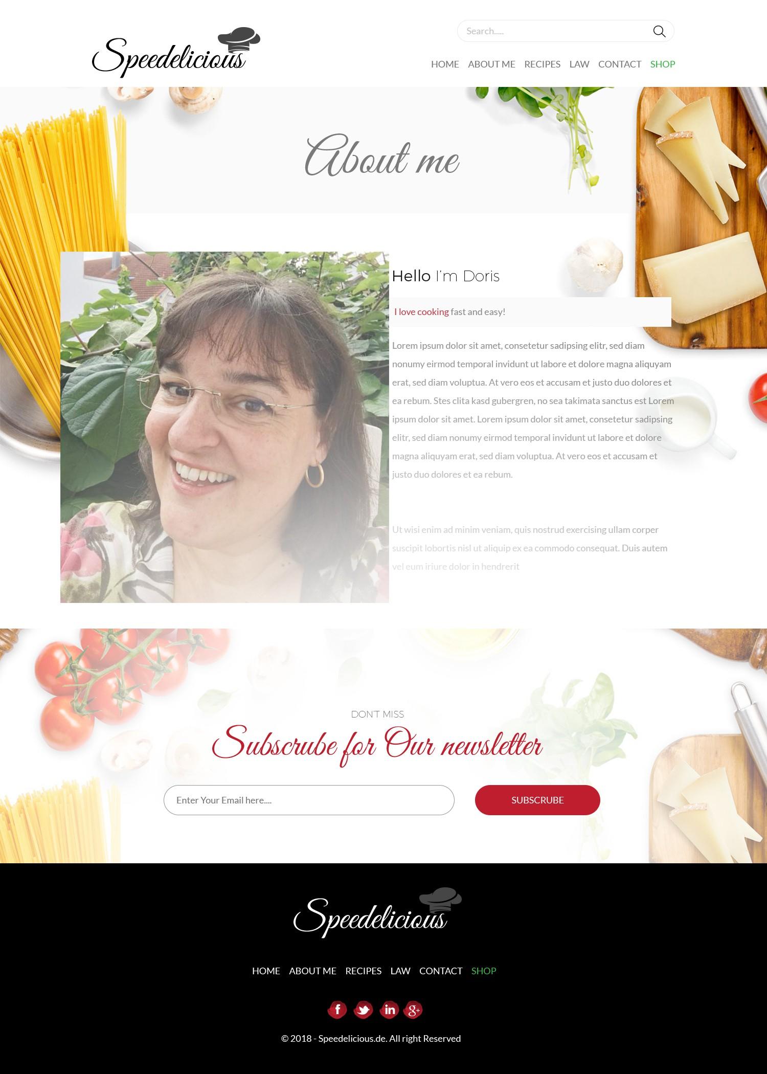 smashing foodblog