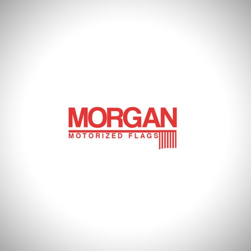 logo for Morgan Flags