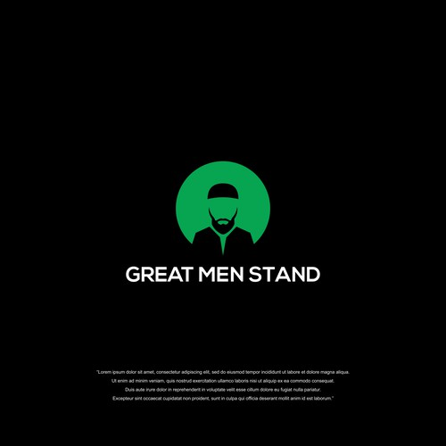 A First: logo for 'coaching for Muslim men' service