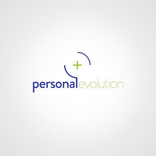 Bold logo concept for personal evolution