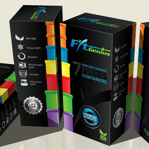 FitGenius containers