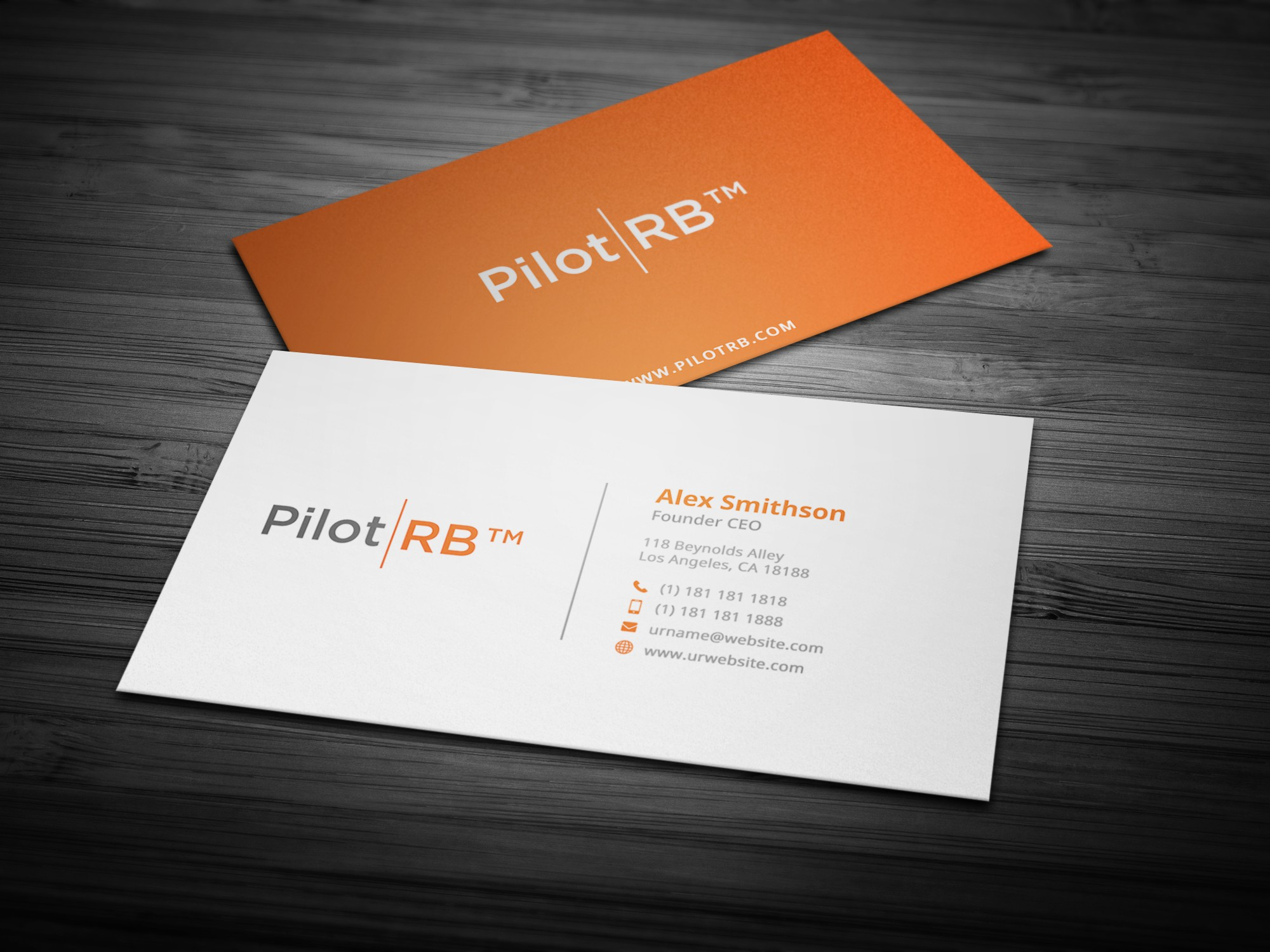 Simple Business Card Design | Unlimitedgamers.co