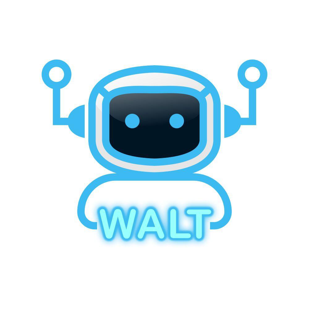 WALT logo design