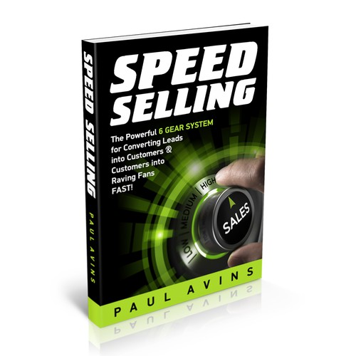 A Stunning Book Cover for Speed Selling
