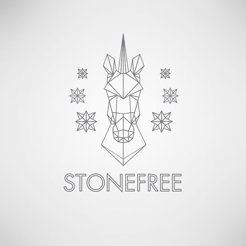 A sexy and free spirited logo for Stonefree