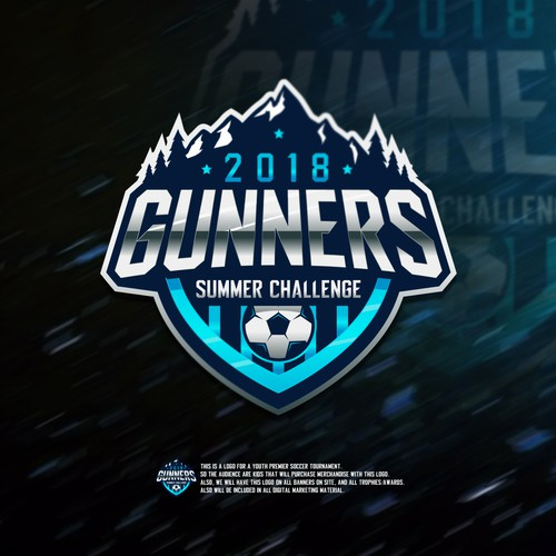 Logo for Youth Soccer Tournament