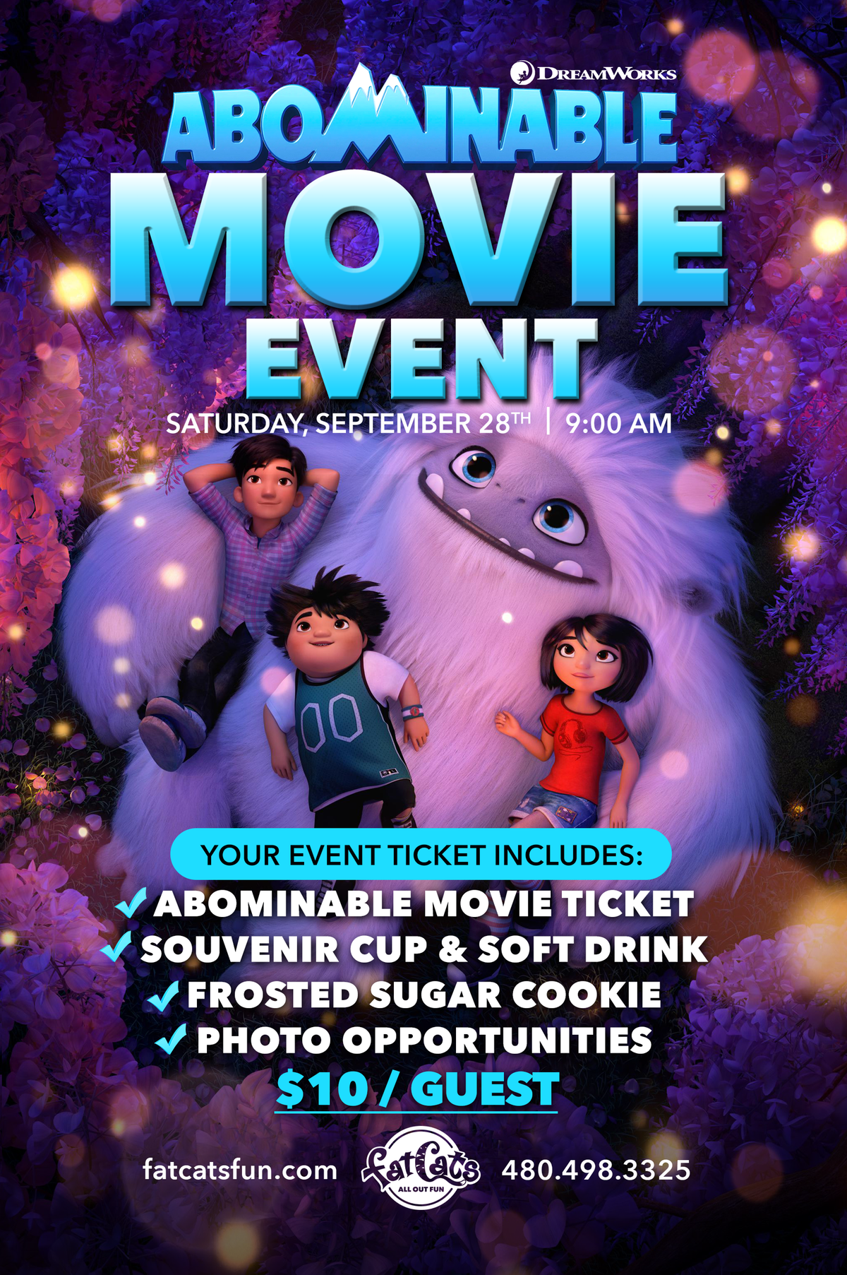 Abominable Movie Event Poster