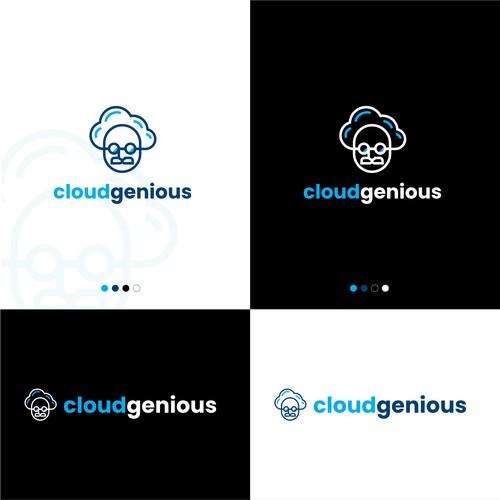 Clever Logo Design for cloudgenious
