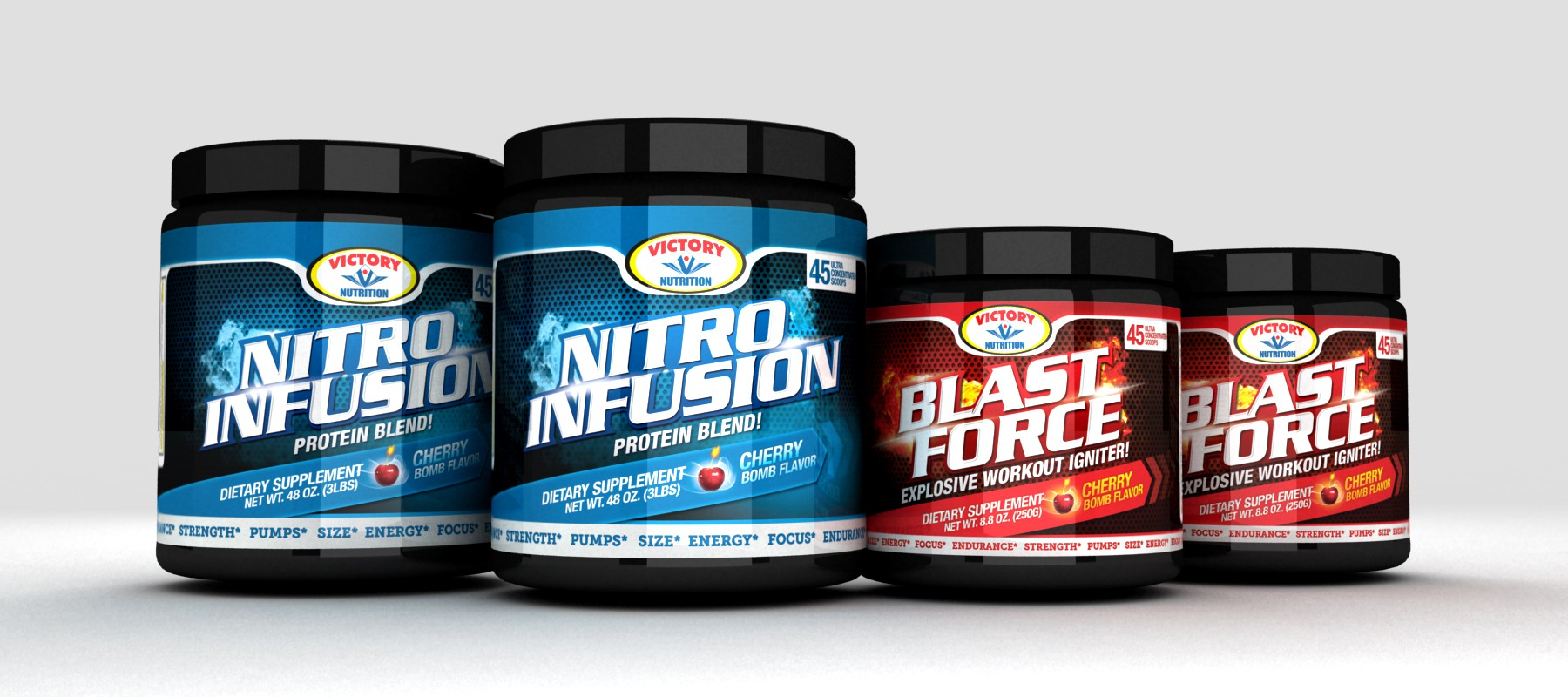 Label Design Contest for Victory Nutrition Center