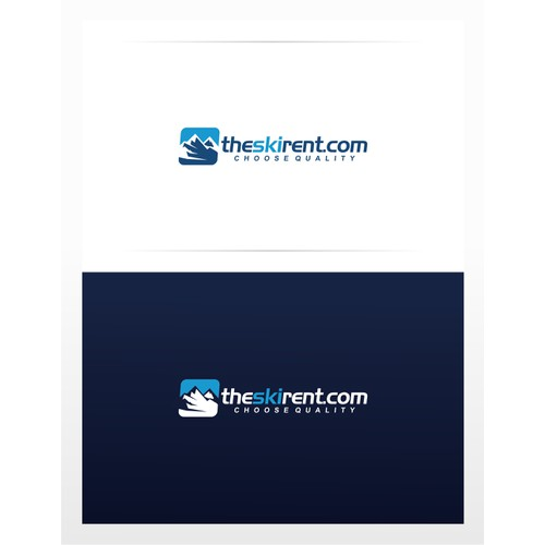 logo for our online ski rent web site