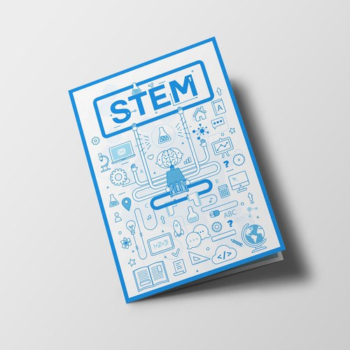 illustration for STEM magazine