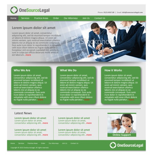 Legal Services Provider Seeks Bold, Modern Website