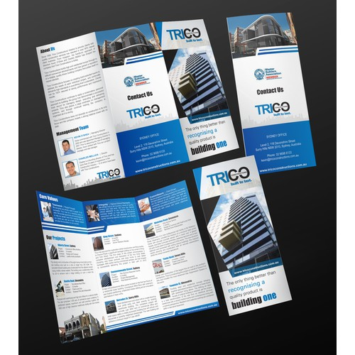 Trifold for Trico Constructions