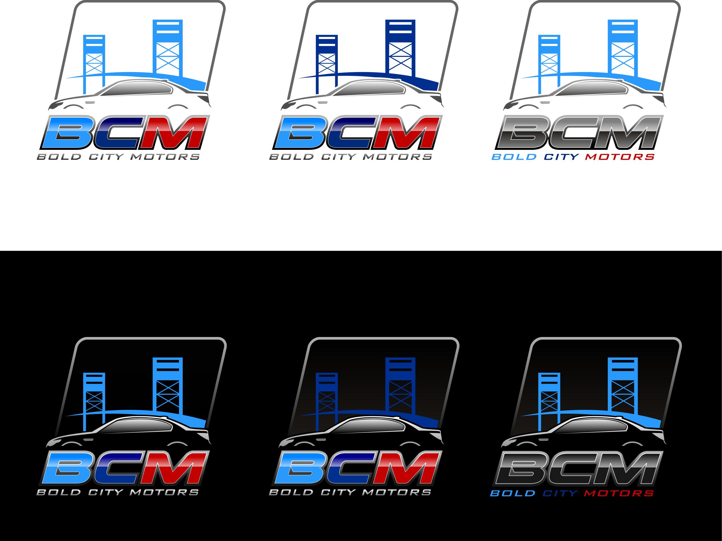 Bold City Motors needs a powerful & luxurious new logo