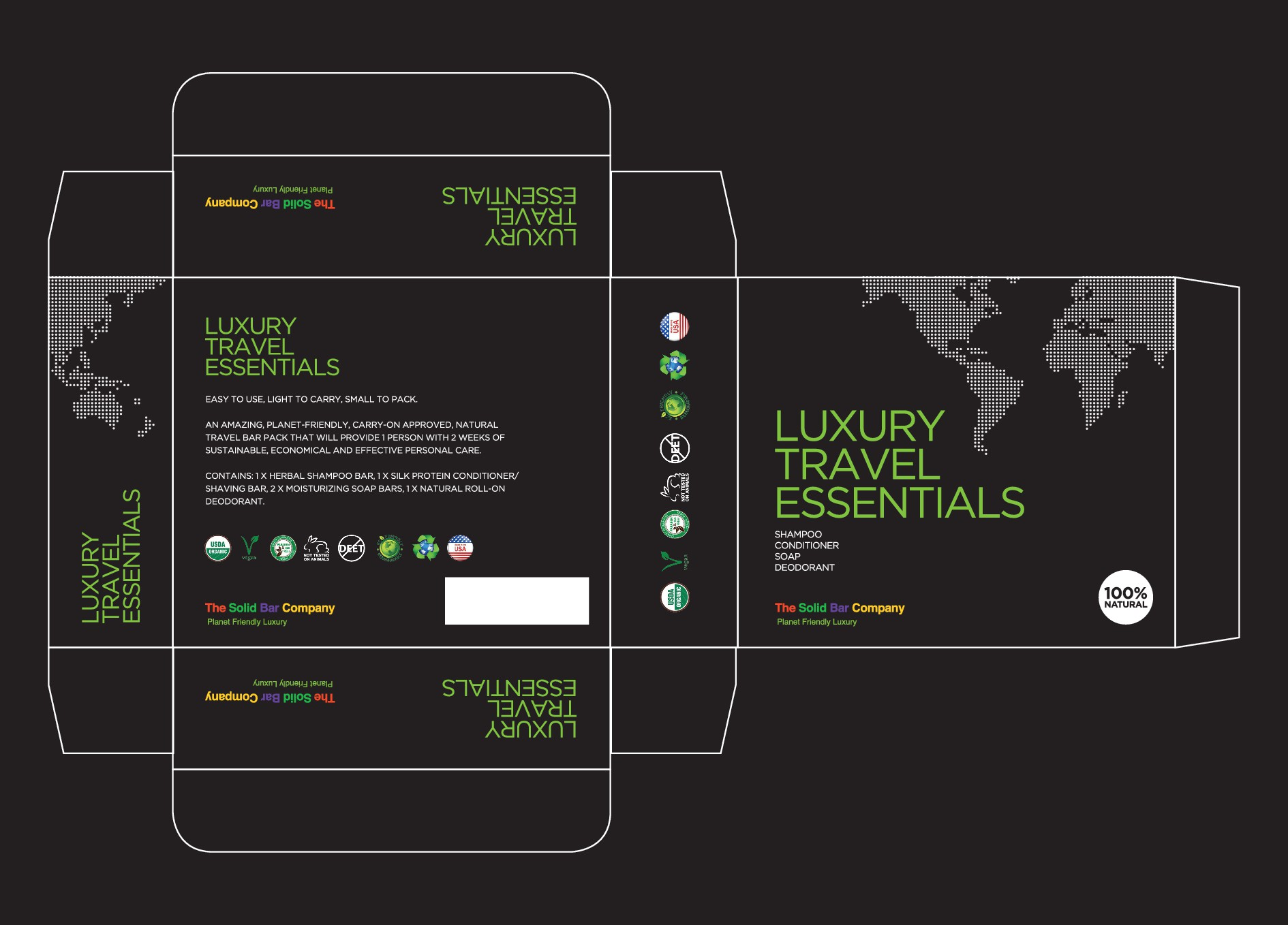 Wanted: A Maximum Impact Package Design For An Eco Travel Product!