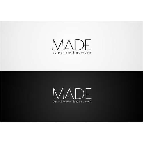 Create a clean sophiscated crisp logo for hair & makeup brand