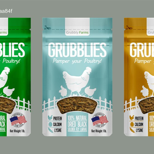 Grubblies  treats for chickens