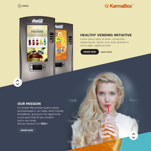 Creative design for KarmaBoxes