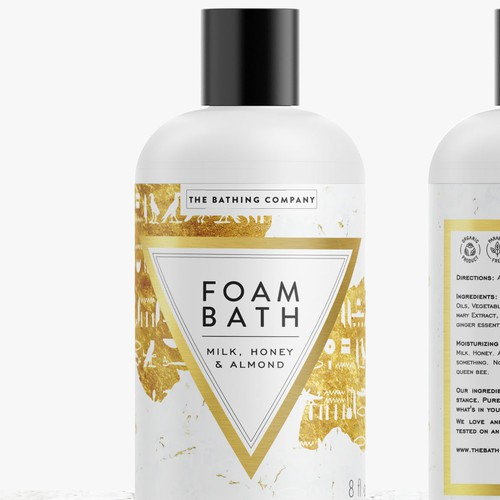 Foam Bath label