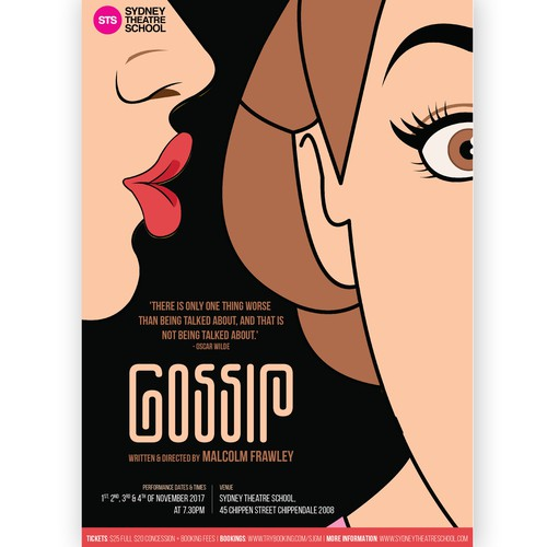 Poster for drama