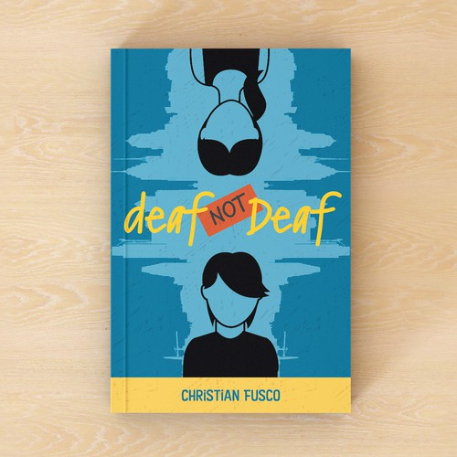 Bold, eye-catching design for pre-teen book