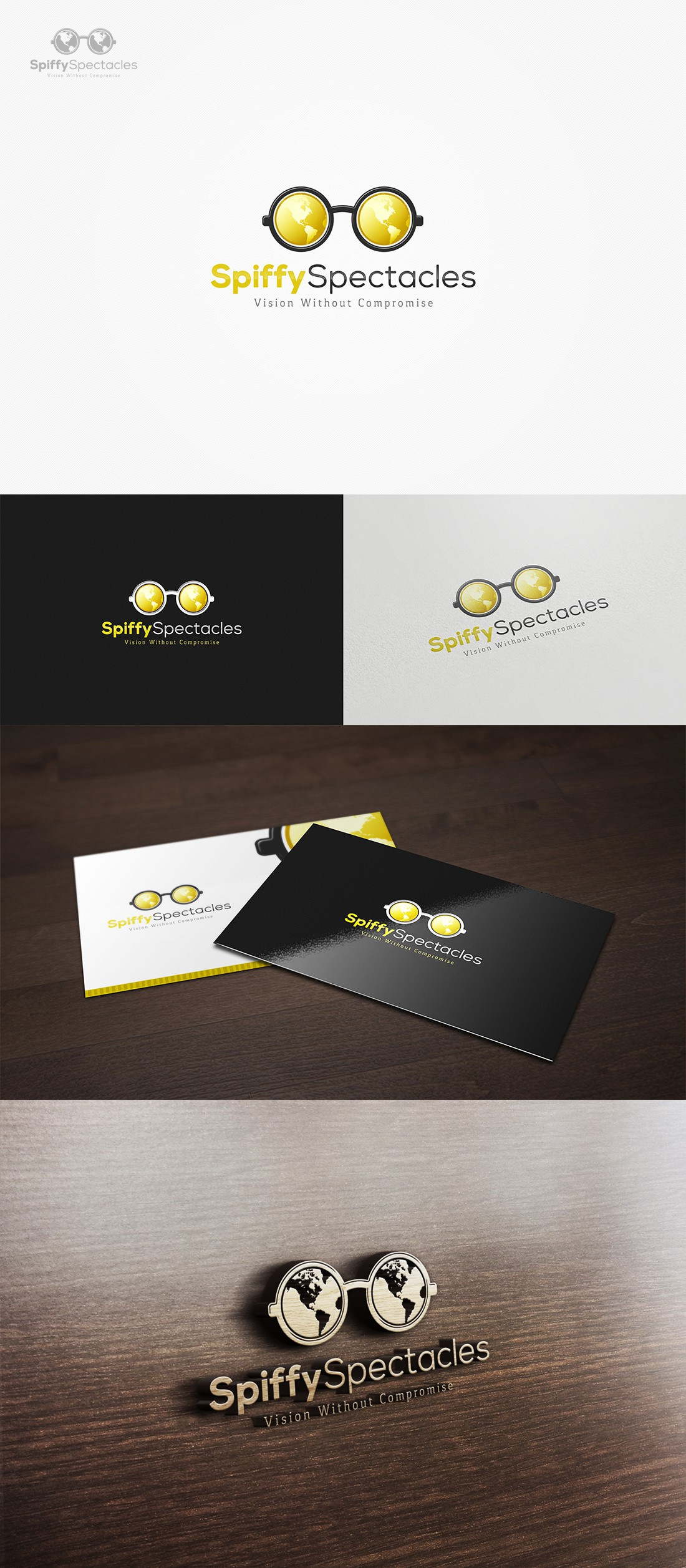 Spiffy Spectacles needs creative logo package!