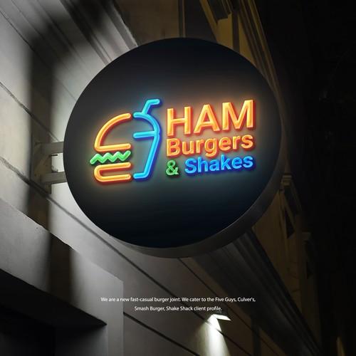 Ham Burgers & Shakes