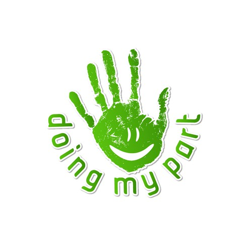 "NEW LOGO FOR GIVING WEBSITE ""DOING MY PART"""