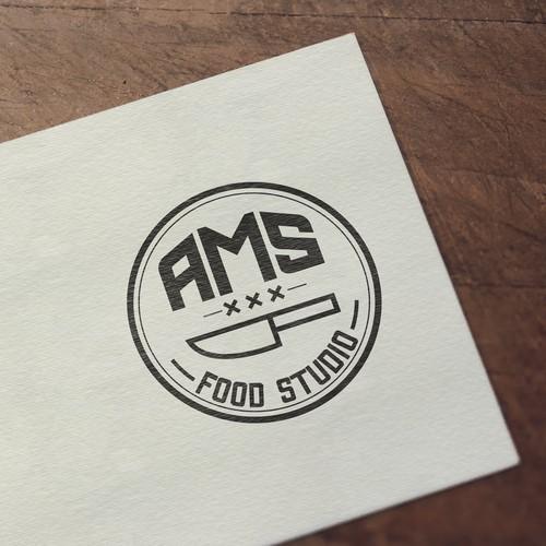 Logo design for AMS food_studio