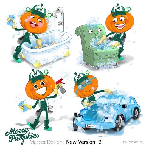 Merry Pumpkins mascot