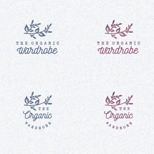 Logo for organic handmade apparel