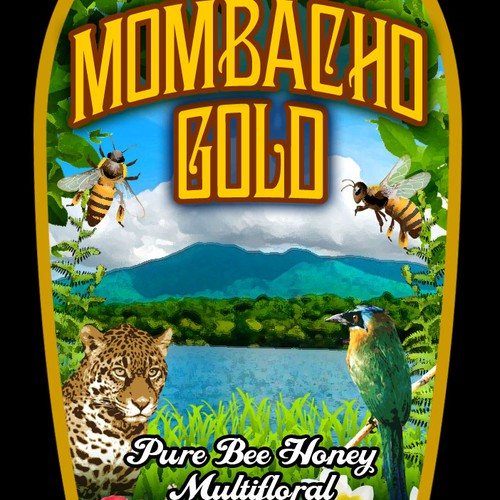 product packaging for Mombacho Gold