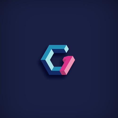 C1 (G1) logo on 3D